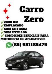 Carro ZERO KM p/ motoristas de APP. ONIX e PRISMA - 2019
