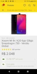 Xiaomi mi9T k 20 glacie BLUE 128gb 6 gb