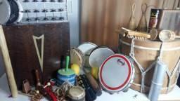 Kit Conjunto de Percussão Brasileira