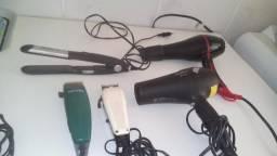 Vendo secador profissional e maquinas de cabelo