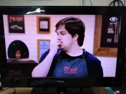 "Tv monitor Philco 24"" funcionando"