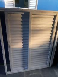 Porta Aluminio Branco
