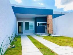 JP casa nova com 3 quartos 2 banheiros com fino acabamento a 10 minutos de messejana