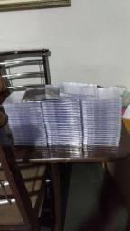 60 capas de cd acrílicas