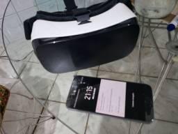 S7 com tela quebrada e o seu  Gear VR