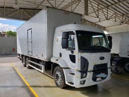 Ford cargo 2429 2017automático TOP com baú