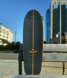Skate Longboard Carver - Simulador de Surf C7 - Molezinha!!!