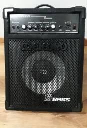 """Amplificador Meteoro Star Black - 12"""" / Reverb / Baixo e Guitarra"""