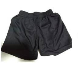Short infantil com sunga na cor preta para esportes