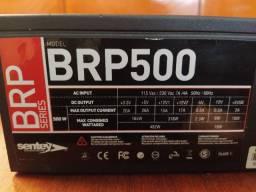 Fonte ATX sentey BRP 500W para consertar