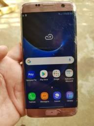 Samsung S7 edge rosé 32gb biometria