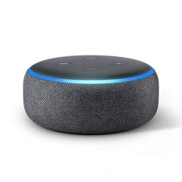 Caixa de som Alexa geração 3 várias cores