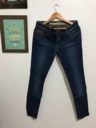Calça jeans feminina nova tng 44
