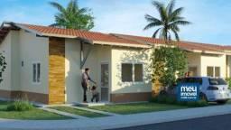 6 - Casa em Condomínio Fechado até 100% Financiado - 2 quartos - Confira!