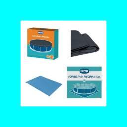 Kit capa+forro para piscina redonda 5.500L Mor