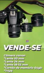 Câmera Cânon profissional