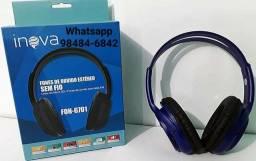 Fone De Ouvido Inova Bluetooth