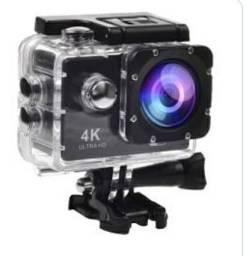 Filmadora 4k Gopro troco por ring light  já com cartão de 32gb de memória