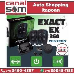 Alarme Pósitron Exact Ex360 Instalado na Canal Som