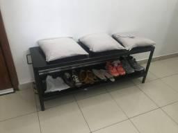 Banco sapateira rack