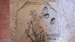 6 Lps, raridades para colecionadores, discos de vinil clássicos de metal.