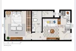 Apartamento de 1 quarto e sala no centro de Teresópolis