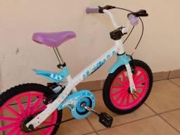 Bicicleta Frozen (tem as rodinhas)