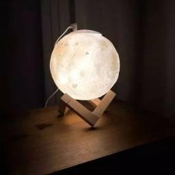 Promoção Umidificador e Luminária Lua Cheia 800ml, Nova, Entregamos