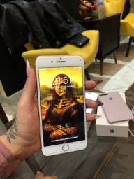Vendo iPhone 8 Plus 64 gigas rose impecável