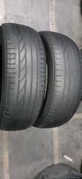 Dois pneus Bridgestone Turanza 185/55/16