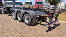 Carreta Porta Container Bug Pastre Com pneus 2007