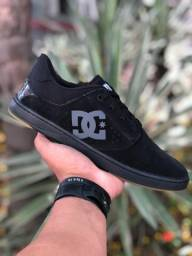 Sapatênis DC Shoes couro legitimo