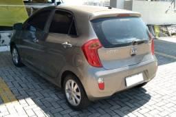 Kia Picanto 1.0 EX4, Manual, 2012/2012, Completo, Cinza, Com Teto Solar, 39.000km, Extra!!