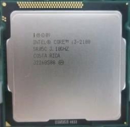 Processador desktop i3 2100 3.10 Ghz