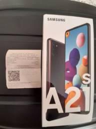 Galaxy A21s 64 GB lacrado