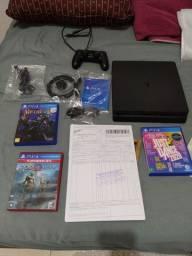Playstation 4 1tb Slim + 3 Jogos