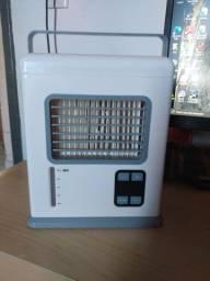 Mini ar-condicionado e fan (ventilador) portátil