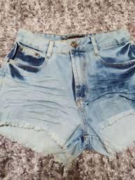 Short jeans novo e calça jeans