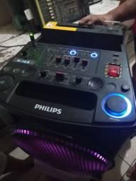 Caixa de som Philips semi novo