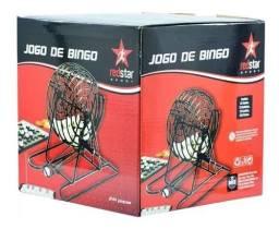 Jogo De Bingo Com Roleta + Fichas 244 Peças Redstar Diverti