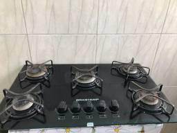 Fogão cooktop Brastemp