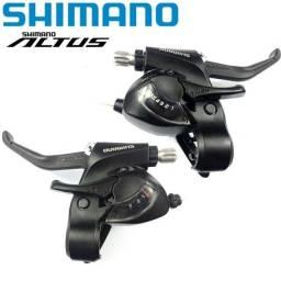 Shimano Altus Rapid Fire 21v C/ Manetes