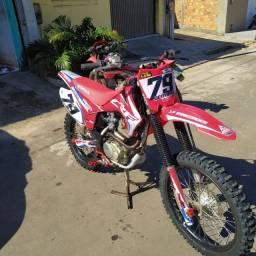 Crf 230 preparada trilha e motocross