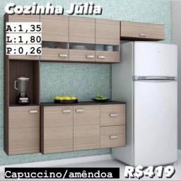 Armário de cozinha completo por 429,00 (entrega grátis )