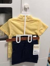 Conjunto Social - Camisa e Bermuda ( Menino ) N2