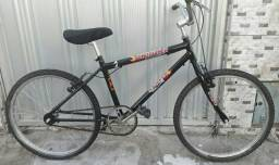 Bike Preto Aro 24 na Parangaba