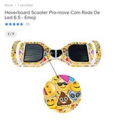 Hoverboard Scooter Pro-move Com Roda De Led 6.5 - Emoji