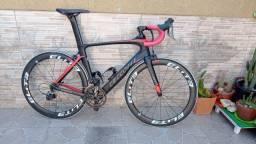 Bike Speed Ceccotti Carbono. Rodas Elite carbono