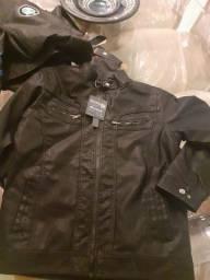 Jaquetas de couro promoção relâmpago