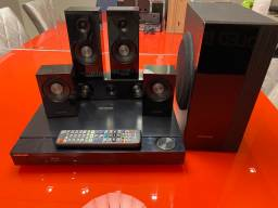 Venda - Home Theater Blue Ray Samsung 5.1 HT C5500/Xaz